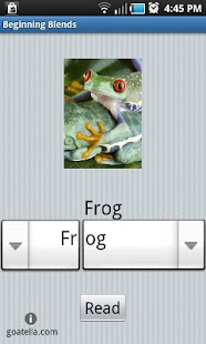 Beginning Blends Word Builder- screenshot thumbnail