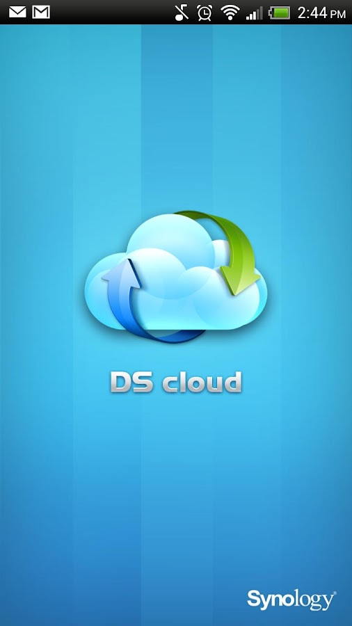 DS cloud - screenshot