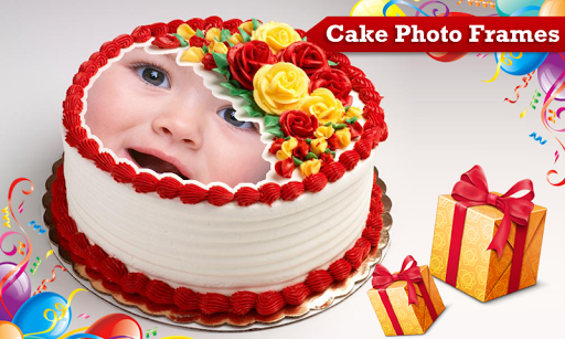 Happy Birthday Cake With Name And Photo Frame Best Images About