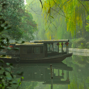 Tranquility by Francisco Little - Landscapes Travel ( nanxun, water town, green, china, river,  )