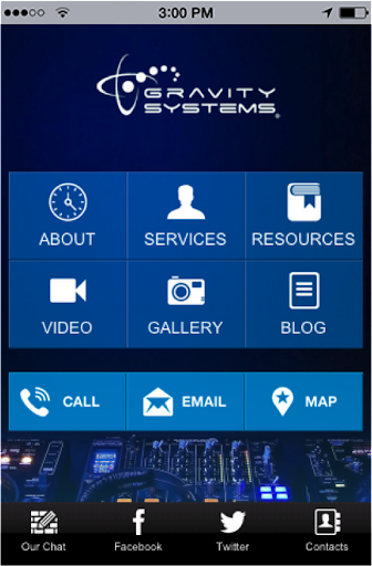 Gravity Systems Inc