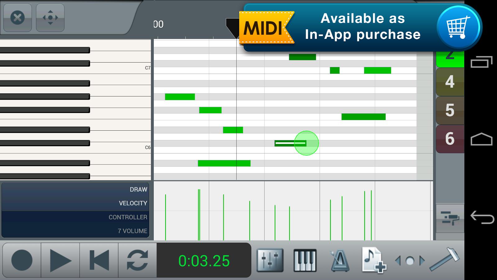 n-Track Studio Multitrack Daw - screenshot