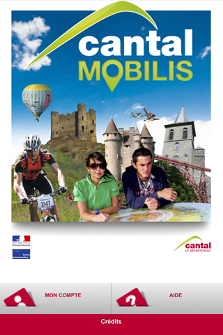 Cantal Mobilis – Capture d'écran