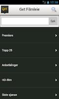 Screenshot of Get TV-guide
