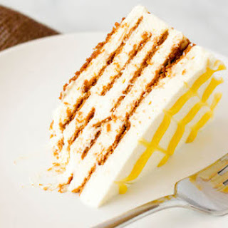 Lemon-Ginger Icebox Cake with BelGioioso Mascarpone