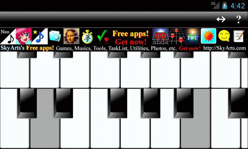 NeoPiano Free- screenshot