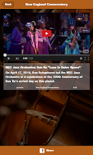 New England Conservatory- screenshot thumbnail