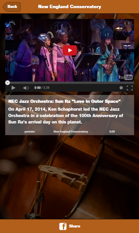 New England Conservatory- screenshot