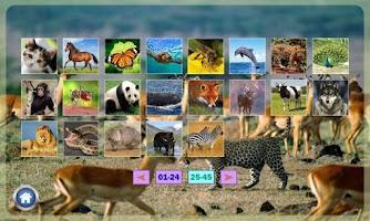 Screenshot of Belajar Membaca Binatang
