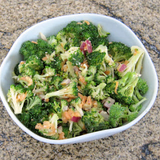 Broccoli Salad with Miso Dressing