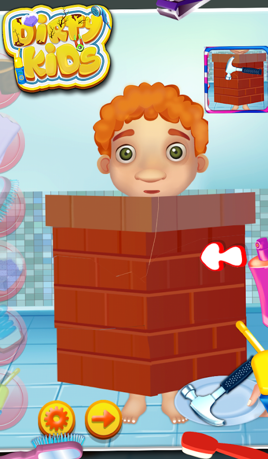 Dirty Kids - Fun Kids Game - screenshot