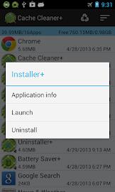 Cache Cleaner + Screenshot 2
