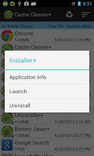Cache Cleaner + - screenshot thumbnail