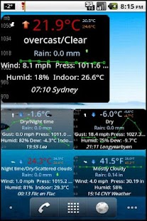 Weather Watch Widget- screenshot thumbnail