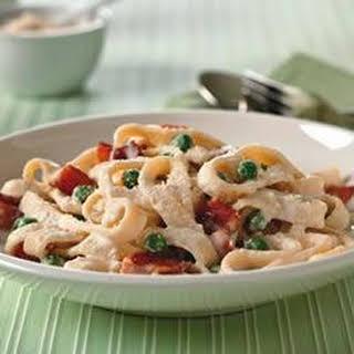 Quick Pasta Carbonara.