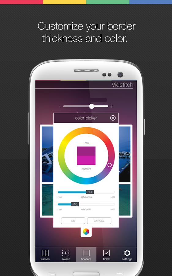 Vidstitch Pro - Video Collage- tangkapan layar