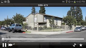 Screenshot of SSM mobile