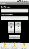 Screenshot of D3H Sindelfingen Taxi