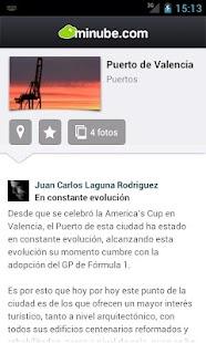 Guía de Valencia - minube - screenshot thumbnail