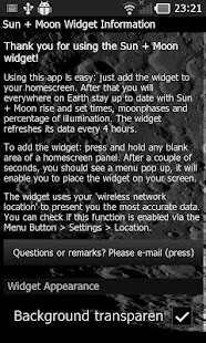 Sun + Moon Widget- screenshot thumbnail
