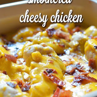 Smothered Cheesy Chicken.