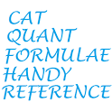 Useful CAT Quant Formulas icon