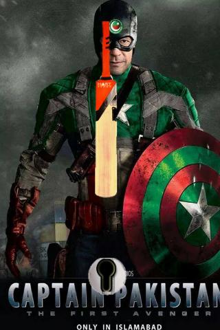 Captain Pakistan Lock Screen