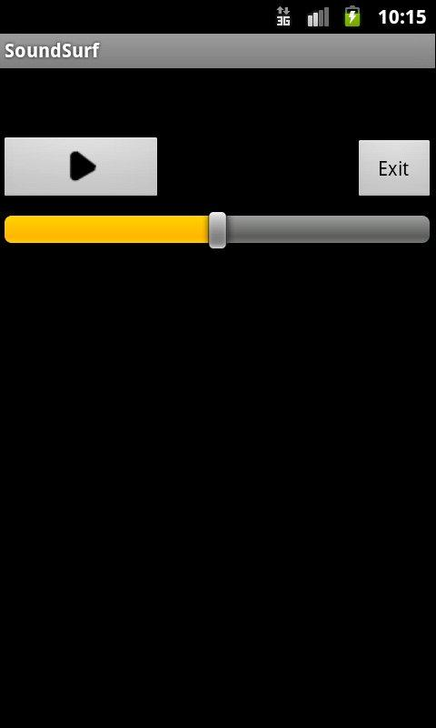 SoundSurf- screenshot