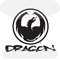 Dragon surf company logo