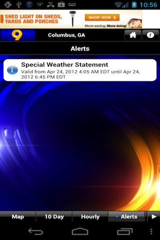 WTVM Storm Team 9 Weather - screenshot