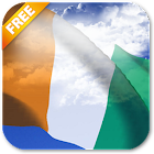 3D Ivory Coast Flag Live Wallpaper icon
