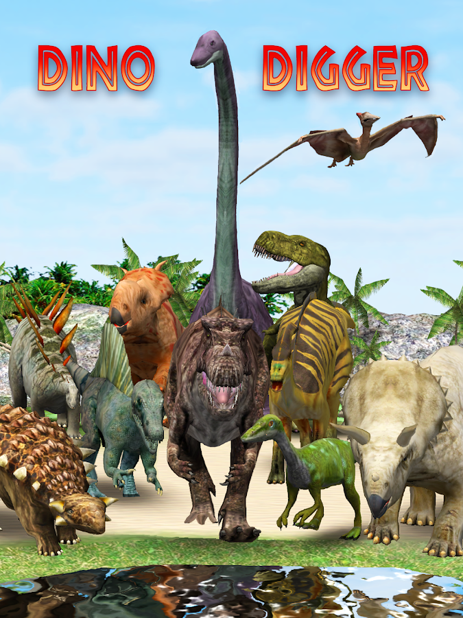 Dino Digger- screenshot