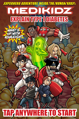 Medikidz Type 1 Diabetes- screenshot