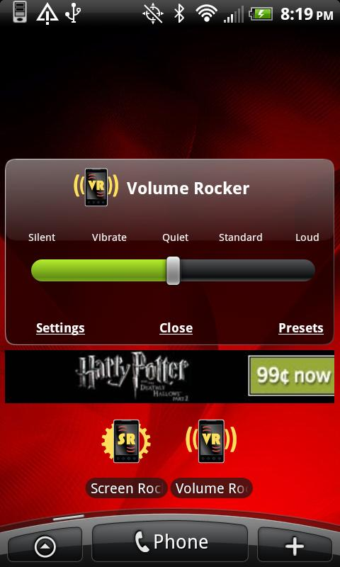 Volume Rocker- screenshot
