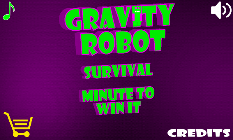 Gravity Robot Free- screenshot