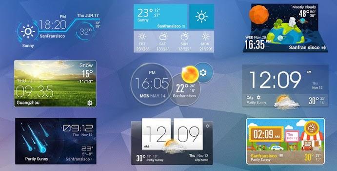 G3 Style Weekly Weather Widget