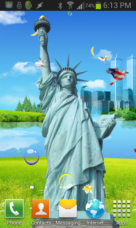 Statue of Liberty Wallpaper- screenshot