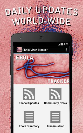Ebola Virus Tracker