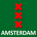 Amsterdam, The Map - Free icon
