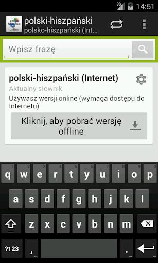 Polsko-Hiszpański słownik