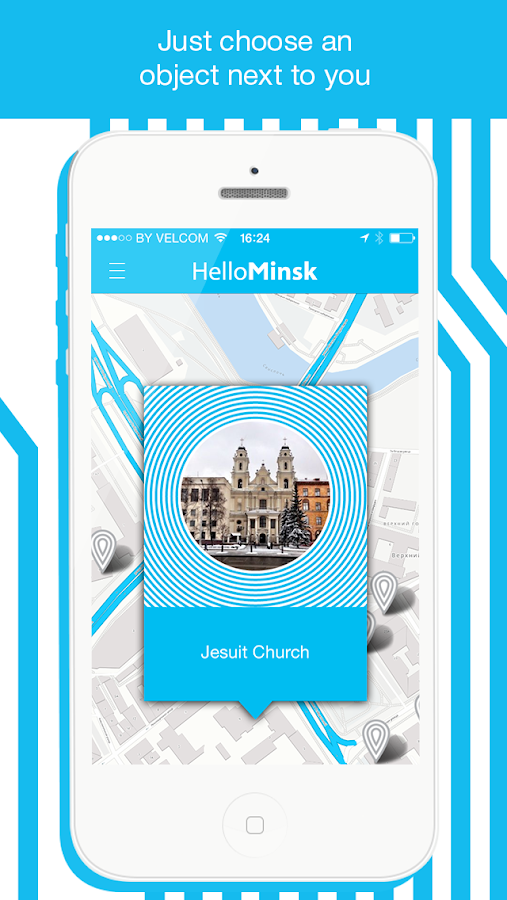 HelloMinsk:tourist audioguide- screenshot