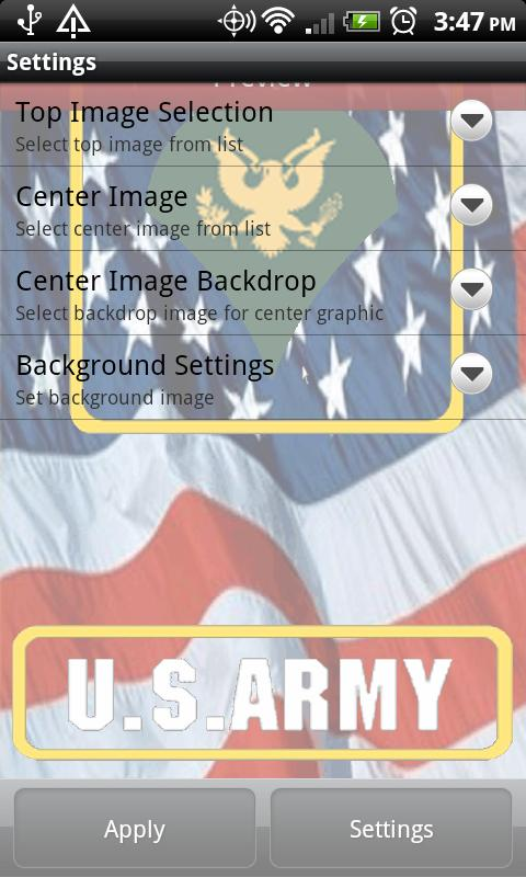Army Live Wallpaper - screenshot