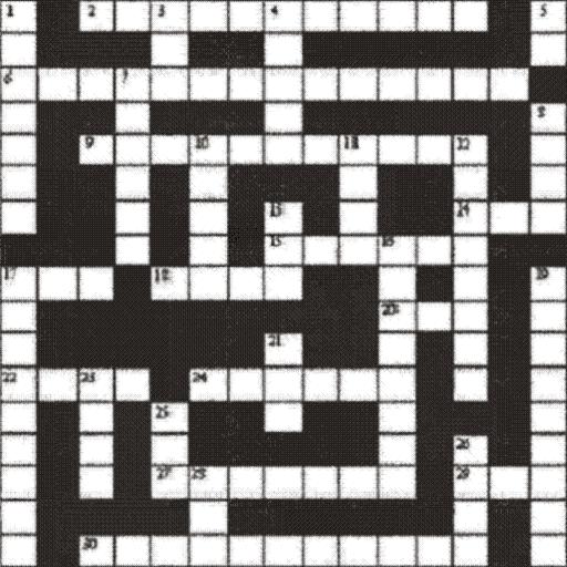 French|English Crossword lite