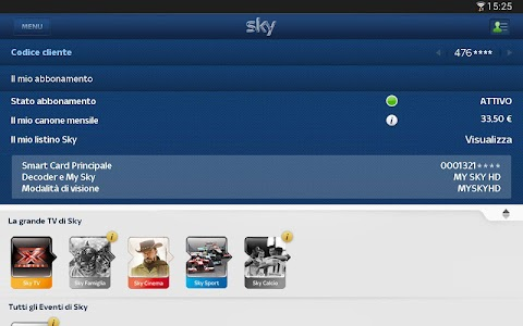 Sky Fai da te per Tablet screenshot 1
