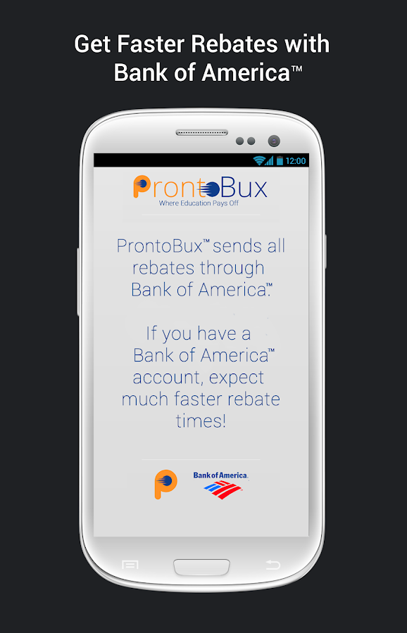 ProntoBux - screenshot