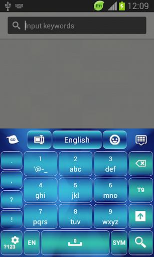 【免費個人化App】蓝色的键盘主题-APP點子