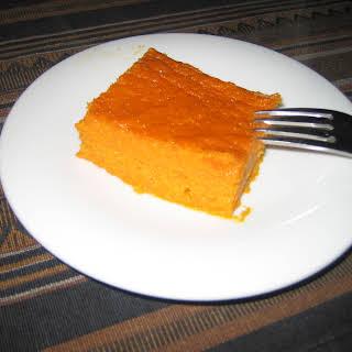 Carrot Souffle.