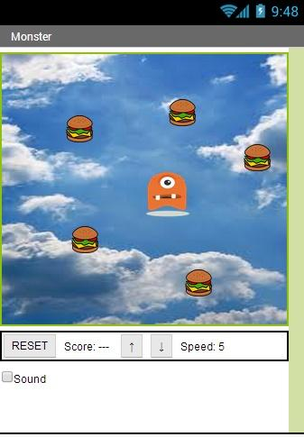 Monster - Hamburger Eater