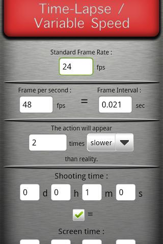 Cine Tool Free- screenshot