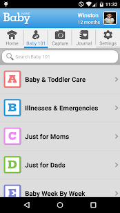 WebMD Baby- screenshot thumbnail